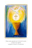 """Biglietto Prima Comunione """"Gesù, pane spezzato per la vita del mondo…"""" Festività, ricorrenze, occasioni speciali"""