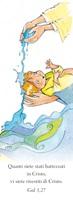 """50 Segnalibri Battesimo """"Quanti siete battezzati in Cristo…"""" Festività, ricorrenze, occasioni speciali"""