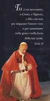 """50 Segnalibri Papa Paolo VI """"Tu ci sei necessario…"""" Cartoleria"""