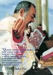 Miniposter San Padre Pio da Pietrelcina Cartoleria