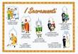 "Poster ""I sacramenti"" Cartoleria"