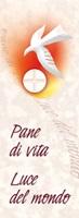 """50 Segnalibri Prima Comunione """"Pane di vita. Luce del mondo"""" Festività, ricorrenze, occasioni speciali"""