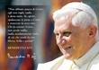 25 Cartoline Benedetto XVI sorridente Cartoleria