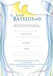 """Diploma Battesimo """"Il mio Battesimo"""" Festività, ricorrenze, occasioni speciali"""