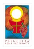 """25 Cartoline """"Preghiera per i sacerdoti"""" Cartoleria"""