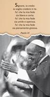25 Immagini Paolo VI Oggettistica devozionale