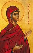 "25 Cartoline preghiera ""Magnificat"" Cartoleria"