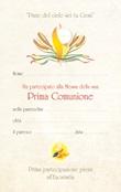 """Diploma Prima Comunione """"Pane del cielo…"""" Festività, ricorrenze, occasioni speciali"""