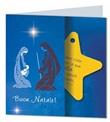 Biglietto Natale con stella decorativa Festività, ricorrenze, occasioni speciali