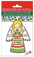 Angelo appendino verde Messaggeri del Natale Festività, ricorrenze, occasioni speciali