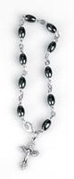 Decina rosario bracciale ematite Rosari