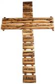 Croce latina Padre nostro Arte sacra