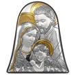 Icona campana Sacra Famiglia argento Arte sacra