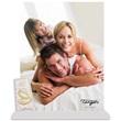 Portafoto bianco tegola Matrimonio fedi nuziali Festività, ricorrenze, occasioni speciali