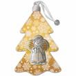 Ornamento albero Natale Angelo argento Festività, ricorrenze, occasioni speciali