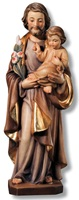 Statua San Giuseppe con bambino Arte sacra
