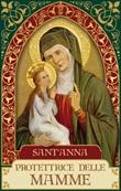 Magnete Sant'Anna (serie Oro) Oggettistica devozionale