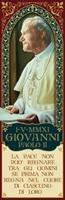 """Magnete commemorativo papa Giovanni Paolo II """"La pace…"""" Oggettistica devozionale"""