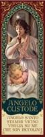 Magnete angelo custode bambina neonata Oggettistica devozionale