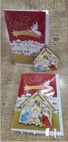 """Biglietto Natale """"Natività con Stella Cometa"""" Festività, ricorrenze, occasioni speciali"""