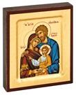 Icona piccola Sacra Famiglia Arte sacra