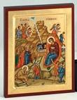 Icona Natività Arte sacra