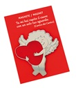 Magnete Angelo con cuore Oggettistica devozionale