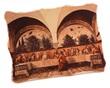Quadro marmo Ultima cena Ghirlandaio Arte sacra