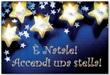 """Magnete """"È Natale"""" stelle Oggettistica devozionale"""