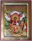 Icona Primo giorno di Cristo in Paradiso Arte sacra