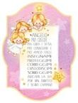 """Tavoletta legno """"Angelo mio custode"""" rosa  Festività, ricorrenze, occasioni speciali"""
