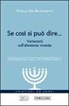 Se così si può dire... Variazioni sull'ebraismo vivente