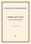Poesie giovanili (La canzone paziente) Libro di  Giuseppe Antonio Borgese