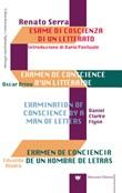 Esame di coscienza di un letterato Libro di  Renato Serra