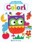 Colori. Grandi stickers Libro di  Elizabeth Golding