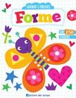 Forme. Grandi stickers Libro di  Elizabeth Golding