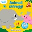 Animali selvaggi. Mini sound book. Ediz. a colori Libro di