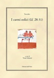 I carmi eolici (Id. 28-31). Ediz. greca e italiana Libro di Teocrito