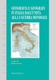 Geografia e geografi in Italia dall'unità alla 1ª guerra mondiale Libro di