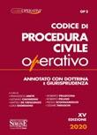 Codice di procedura civile operativo. Annotato con dottrina e giurisprudenza Libro di