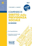 Compendio di diritto della previdenza sociale. Con espansioni online Libro di  Federico Del Giudice, Federico Mariani