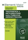 Trasparenza e anticorruzione nelle pubbliche amministrazioni Libro di  Beatrice Locoratolo, Alessandra Pedaci