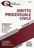 Diritto processuale civile. Manuale di base per la preparazione alla prova orale dell'esame di avvocato Libro di