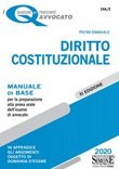 Diritto costituzionale. Manuale di base per la preparazione alla prova orale dell'esame di avvocato Libro di