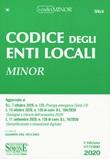 Codice degli enti locali. Ediz. minor Libro di