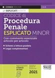 Codice di procedura penale. Esplicato minor Libro di