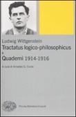 Tractatus logico-philosophicus e Quaderni 1914-1916 Libro di  Ludwig Wittgenstein
