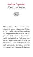 Declino Italia Ebook di  Andrea Capussela