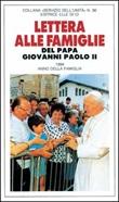 Lettera alle famiglie Libro di Giovanni Paolo II