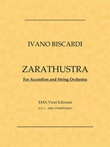Zarathustra. For accordion and string orchestra Ebook di  Ivano Biscardi